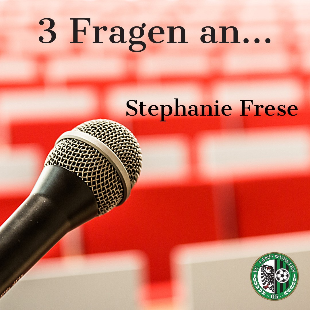 3 Fragen an Stephanie Frese