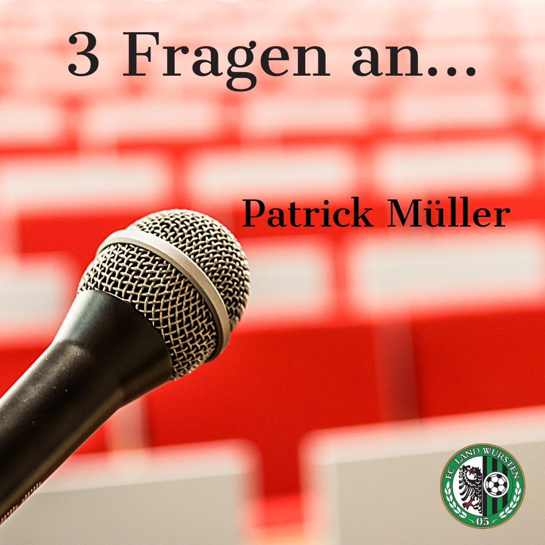 You are currently viewing 3 Fragen an Patrick Müller