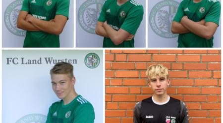 Fünf U19-Spieler schaffen den Sprung in die 1. Herren