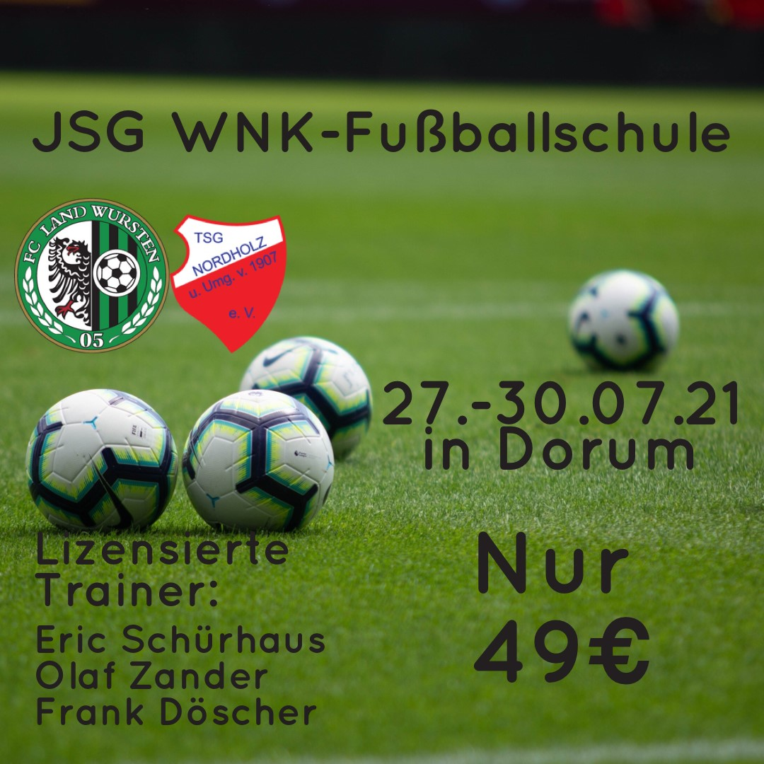 Read more about the article JSG WNK startet eigene Fußballschule