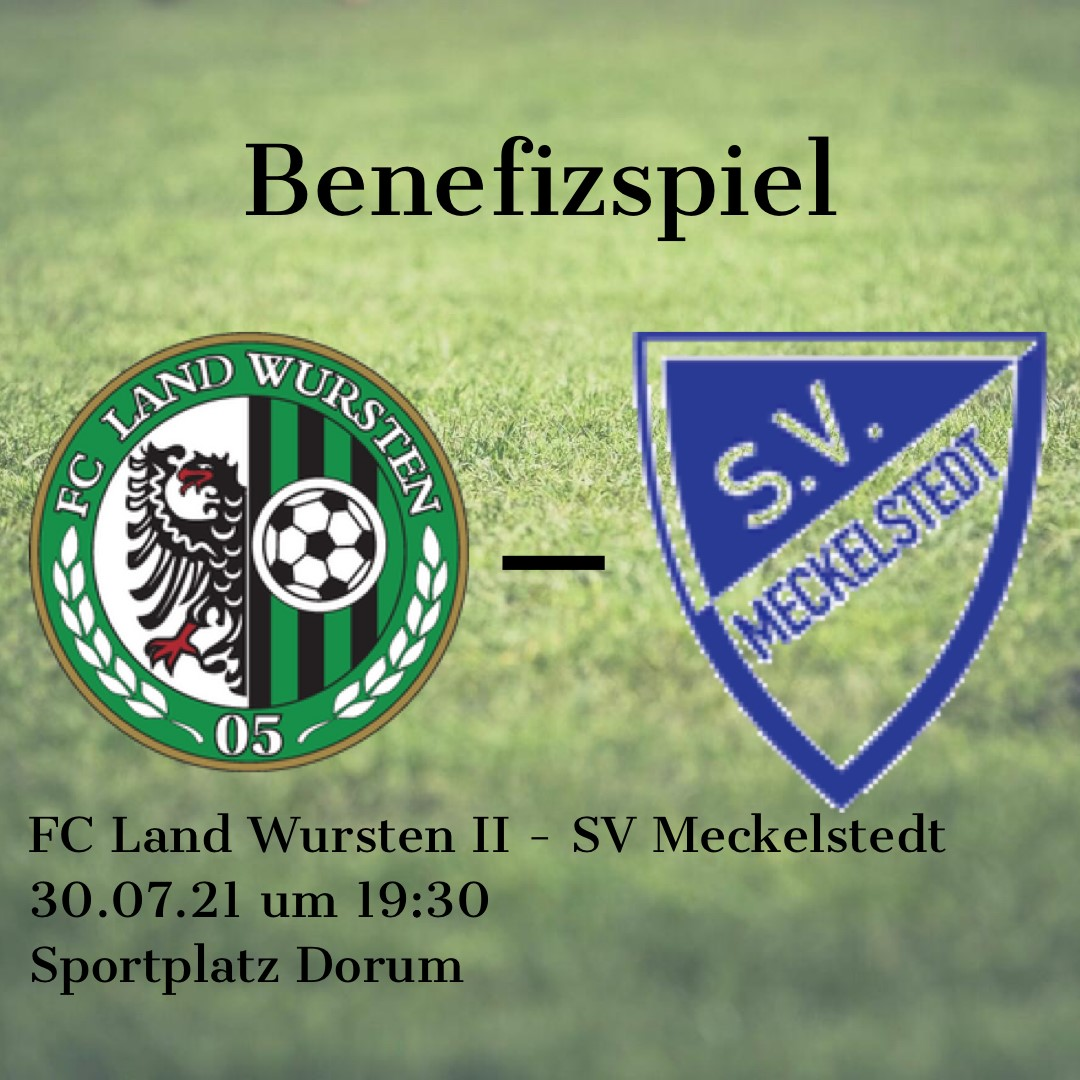 Read more about the article Benefizspiel: FC Land Wursten II – SV Meckelstedt