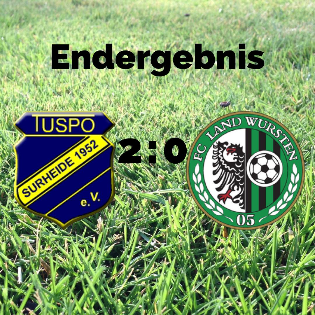 You are currently viewing Testspiel: TuSpo Surheide – FC Land Wursten 2:0