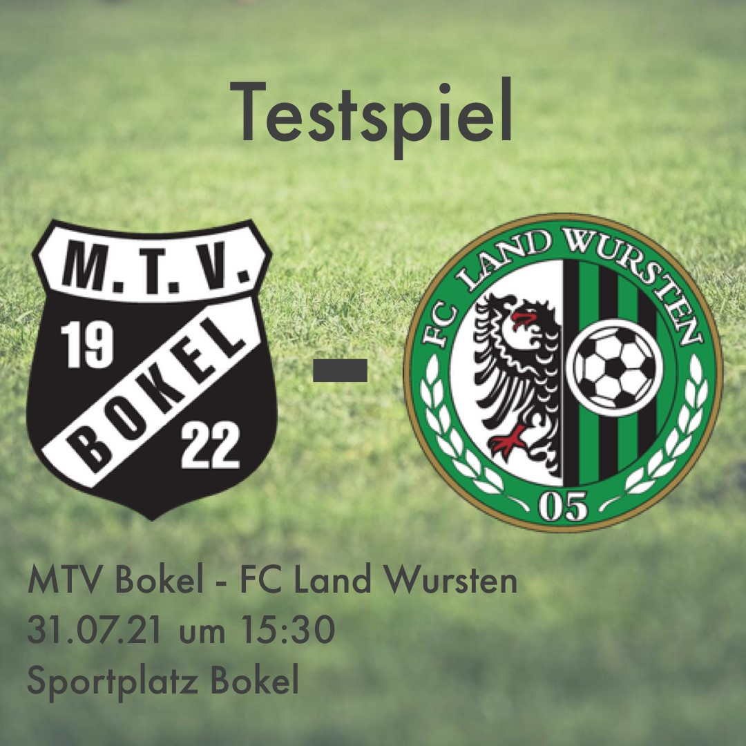 You are currently viewing Testspiel: MTV Bokel – FC Land Wursten