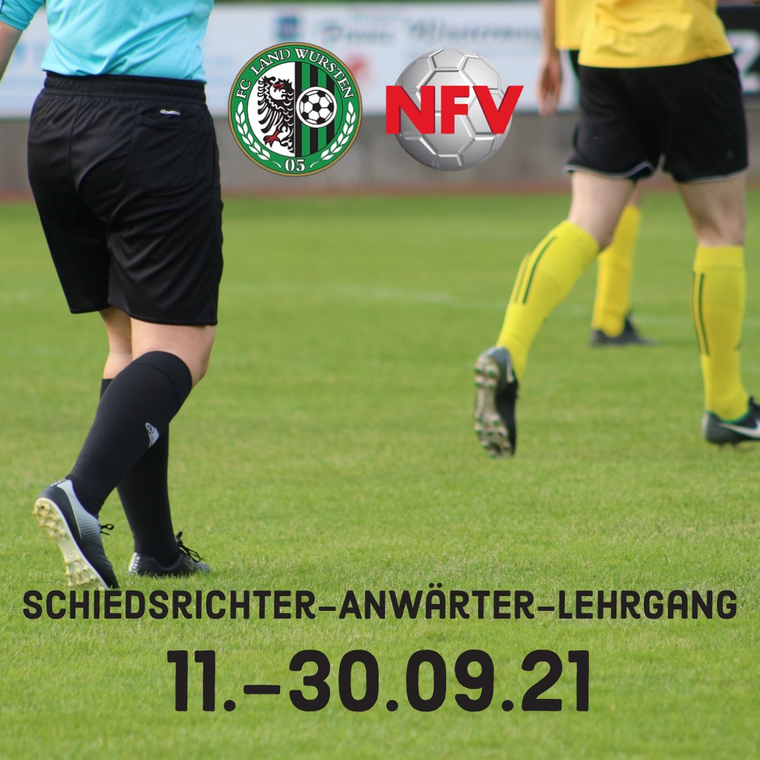 You are currently viewing Schiedsrichter-Anwärter-Lehrgang startet bald