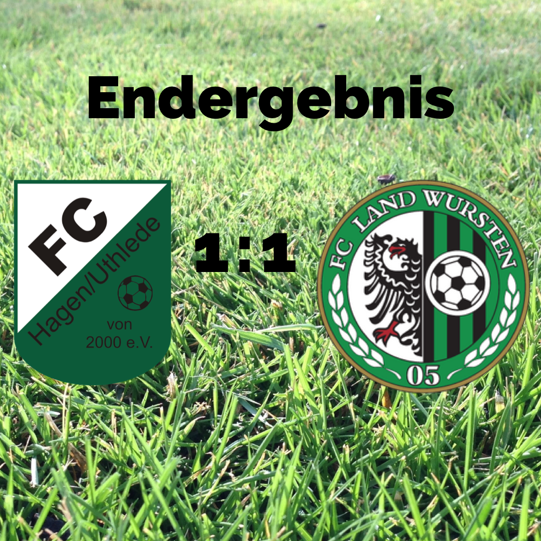 You are currently viewing 5. Spieltag: FC Hagen/Uthlede II – FC Land Wursten 1:1