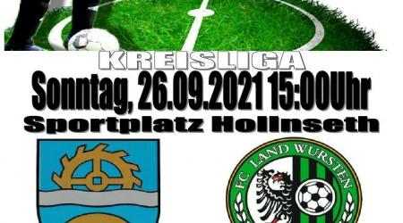 7. Spieltag: TSV Hollen-Nord – FC Land Wursten