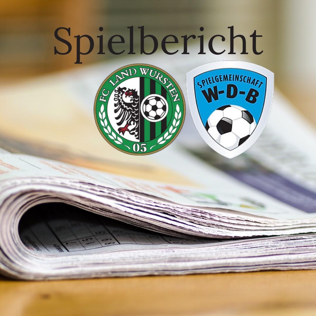 You are currently viewing Punktspiel (6. Spieltag) vom 19.09.21 in Midlum: FC Land Wursten – SG WDB 3:2 – Spielbericht