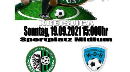 6. Spieltag: FC Land Wursten – SG WDB