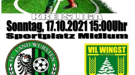 10. Spieltag: FC Land Wursten – VfL Wingst