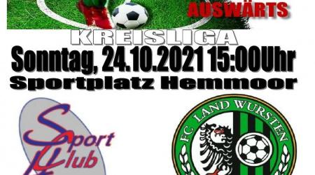 11. Spieltag: SC Hemmoor – FC Land Wursten